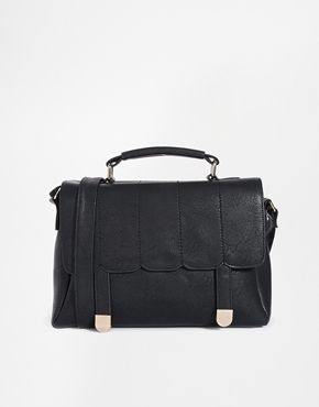 ASOS Scallop Stitch Satchel Bag