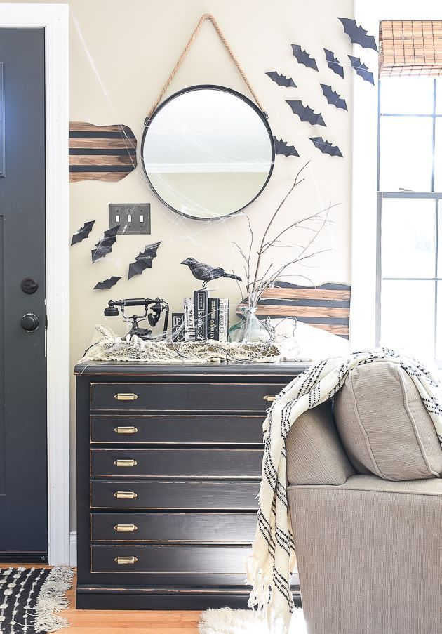 How to Decorate a Scary Halloween Home for Less Spooky halloween - how to decorate home for halloween