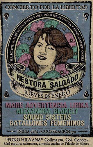 Nestora Salgado, activista sigue presa, corrupción e ilegitimidad nubulan su caso! Alcemos la voz! #YaMeCanse #FreeNestora!