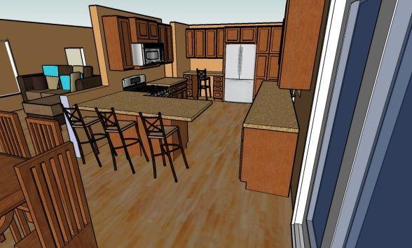 Tri Level Kitchen Remodel 1500 Trend Home Design 1500