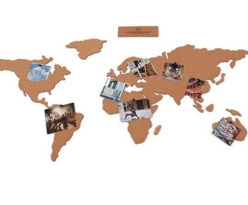 Luckies of london corkboard map cork board world atlas with pins luckies of london corkboard map cork board world atlas with pins ebay gumiabroncs Choice Image