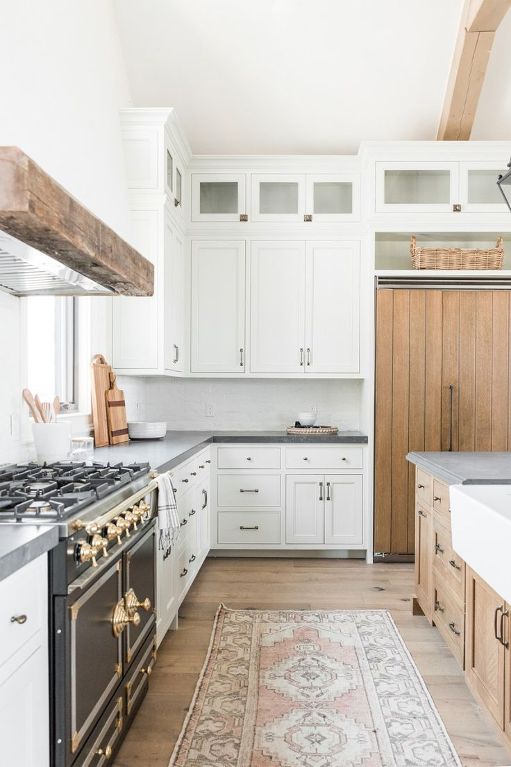 8 White Kitchen Cabinet Ideas You Can T Call Vanilla In 2020 Kitchen Design Diy Kitchen Remodel Home Kitchens