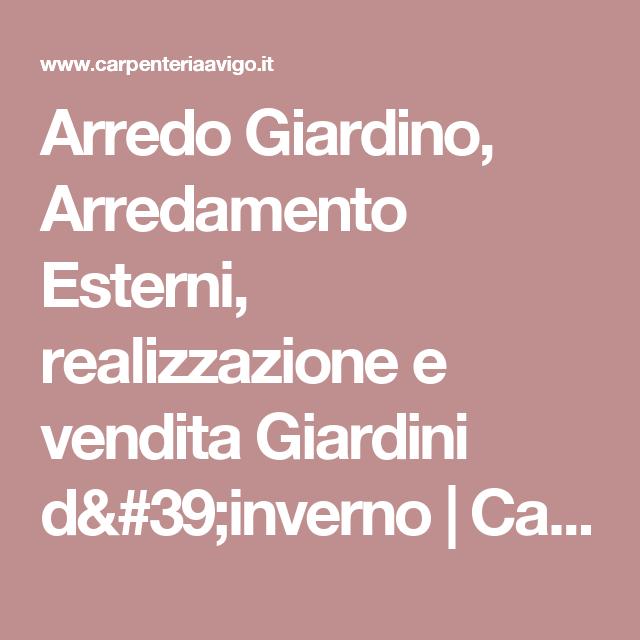 Arredo Giardino, Arredamento Esterni, realizzazione e vendita ...