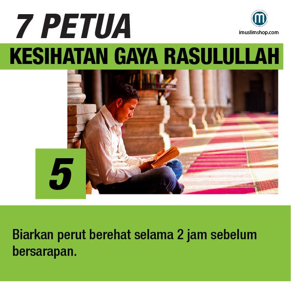 7 Petua Kesihatan Gaya Rasulullah sebarkanmanfaat