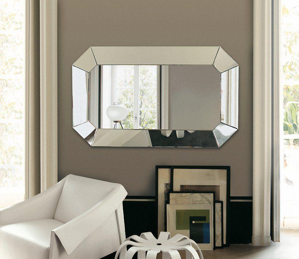 Porada oktagono wall mirror by opera design chaplins