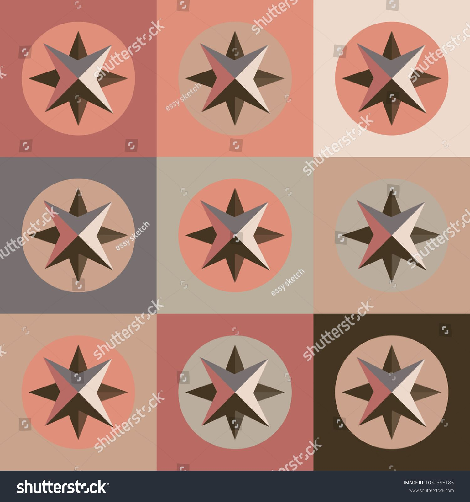 Seamless pattern square circle and star direction cartography seamless pattern square circle and star direction cartography travel object north west navigation east compass graphic sign symbol icon shape biocorpaavc Image collections