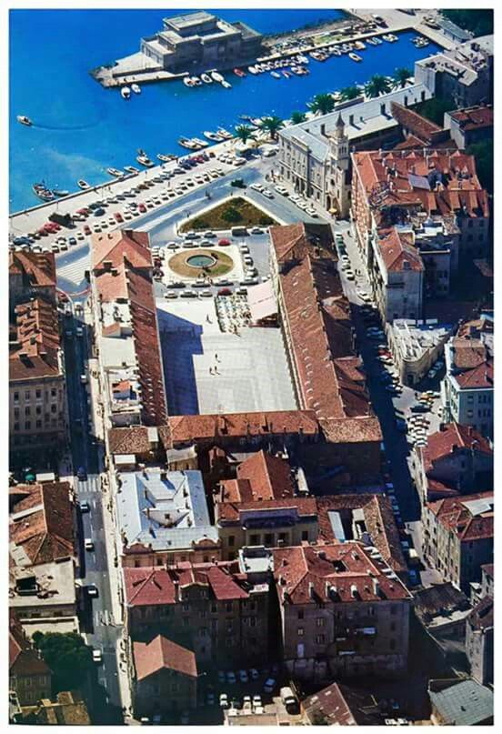 Split From Above Croatia Places To Visit Travel Destinations