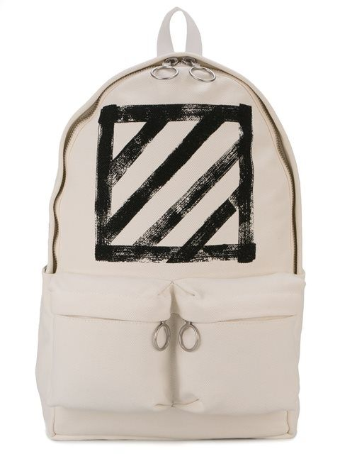 df364d3baeb1 Shop Off-White brushed diagonals backpack in Just One Eye from the world's  best independent boutiques at farfetch.com. Shop 400 boutiques at one  address.