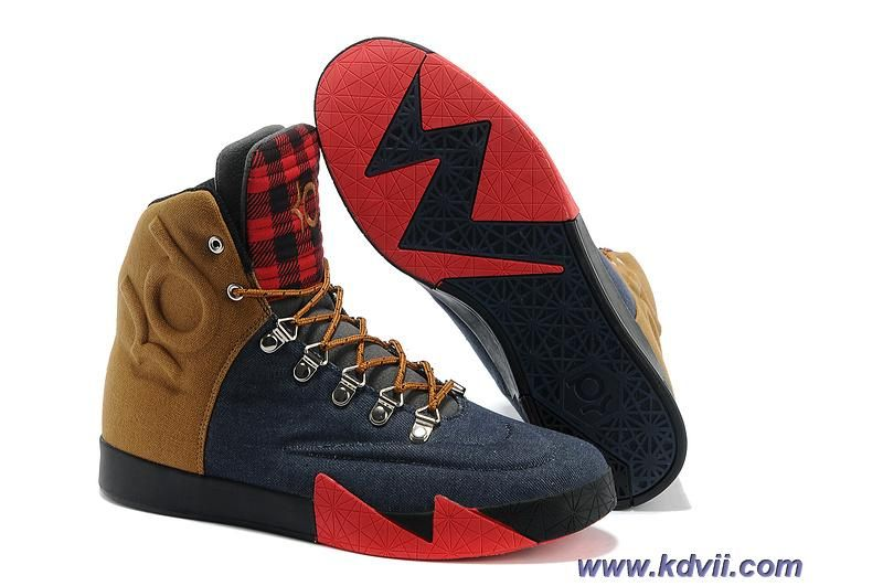 Brown · Discounts Nike KD 6 NSW Lifestyle QS Peoples Champ Denim ...