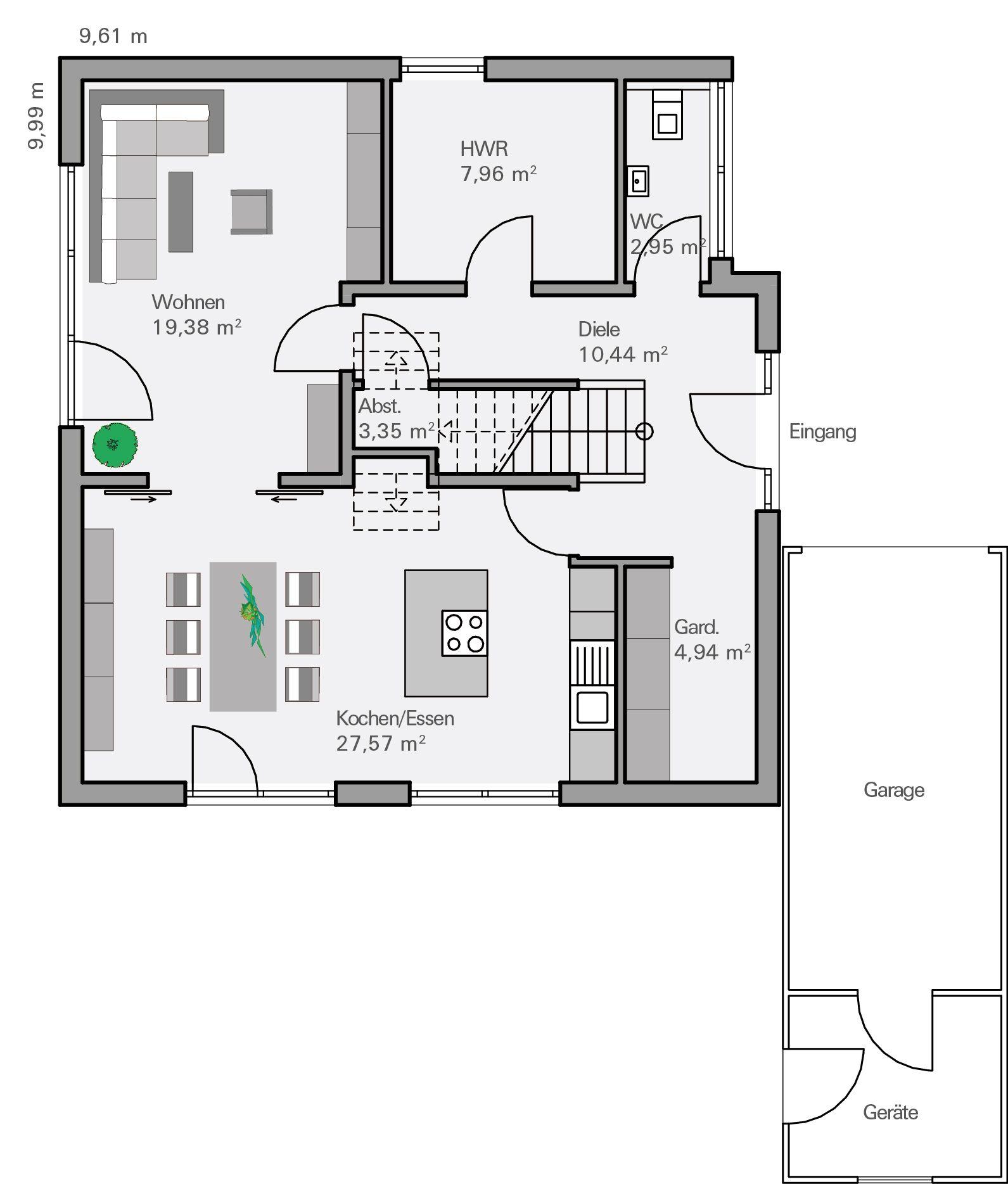 Grundriss einfamilienhaus 180 qm haus design und m bel ideen for Grundriss modernes einfamilienhaus