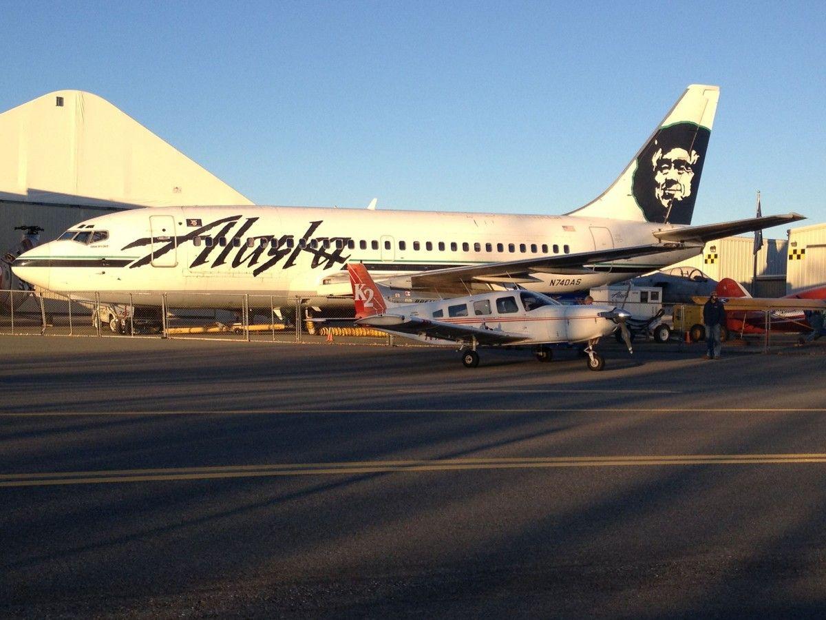 Alaska Airlines Boeing 737290C/Adv (N740AS) Preserved in