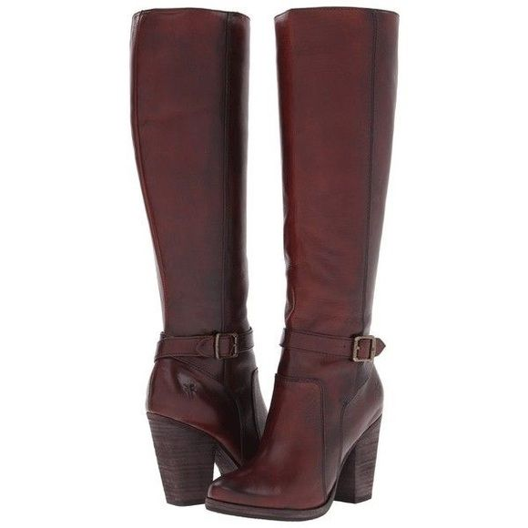 Frye Patty riding boot tall Redwood color. Worn twice ...