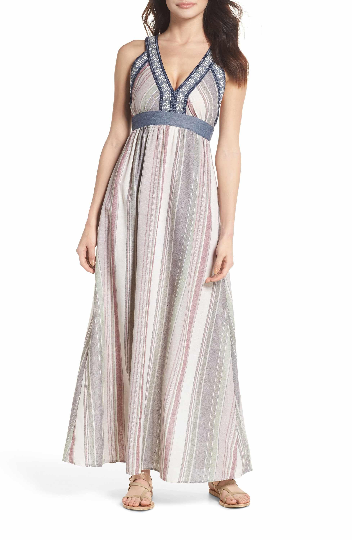 Thml Stripe Maxi Dress Nordstrom Striped Maxi Dresses Maxi Dress Dresses [ 3000 x 1956 Pixel ]