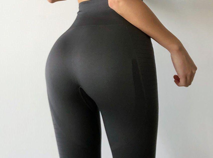Women Sport Compression Fitness Leggings Gym High Waist Butt Lift Yoga Pants