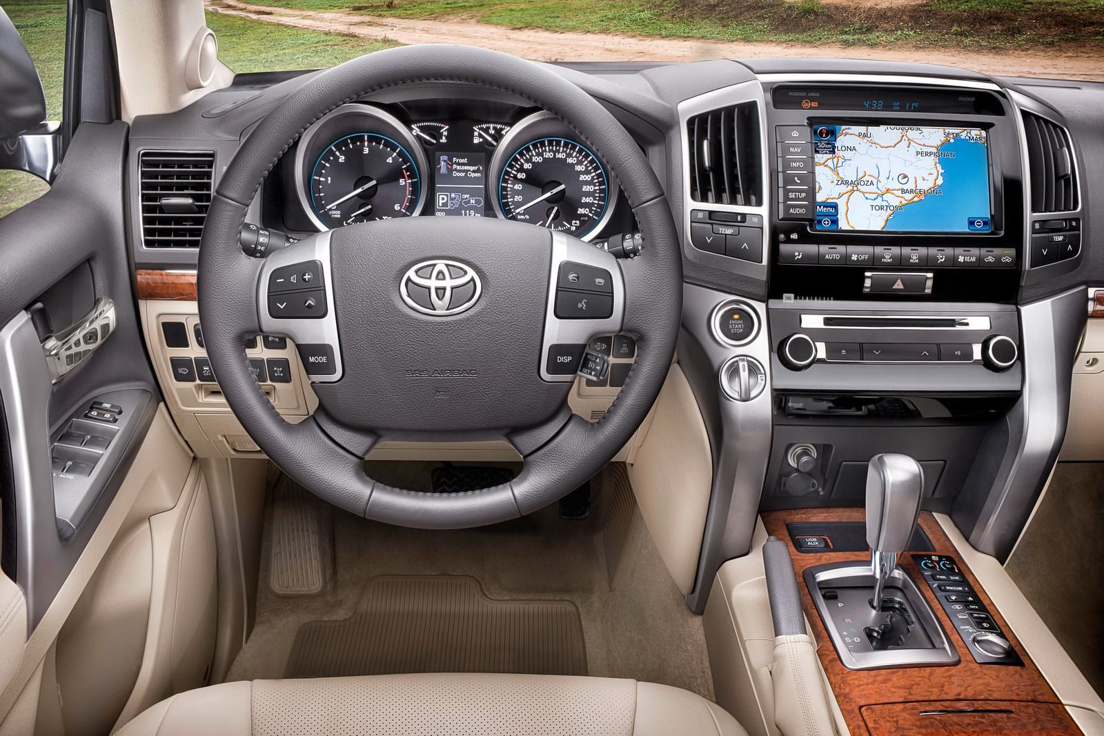 2016 Toyota 4Runner Interior? Not Really! Hopefully They Do Something Like  This To The Interiors On The New 4X4