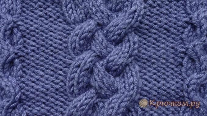 узоры вязания спицами жгуты