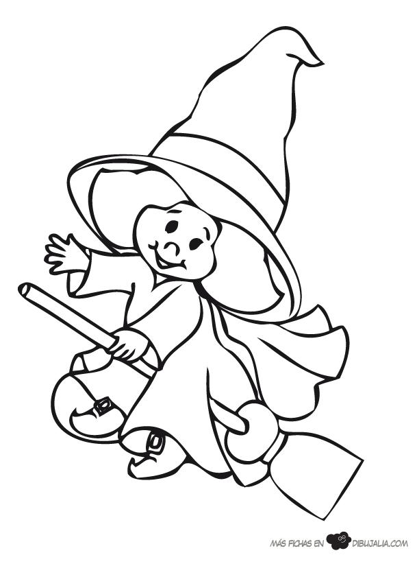 Bruja buena   Dibujalia   Dibujos para colorear   Personajes de