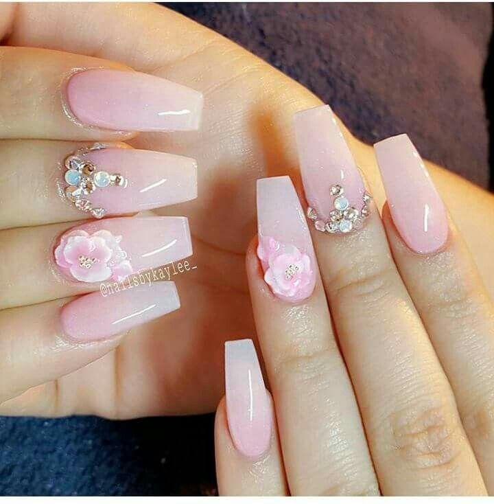 Pin by Yey Saballa on nails | Pinterest | Nail wedding, Nail care ...