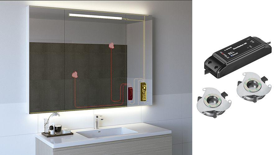 Os autofalantes do Sound System 420 transformam quase todas as superfícies, como madeira, vidro ou plástico, em propagadores do som