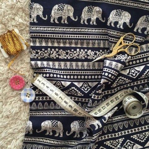Tchequellas, me llegaron estas telas indias de Eco Fabric Store y son tan pero…