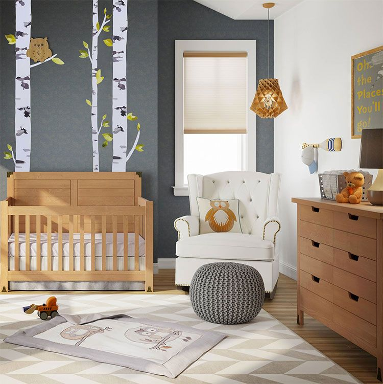 30 idee per decorare la cameretta dei neonati con allegria for Decorazioni stanza neonato