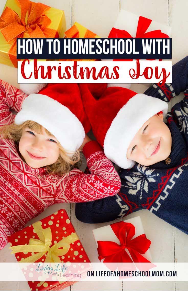 How to Homeschool with Christmas Joy Homeschool holidays