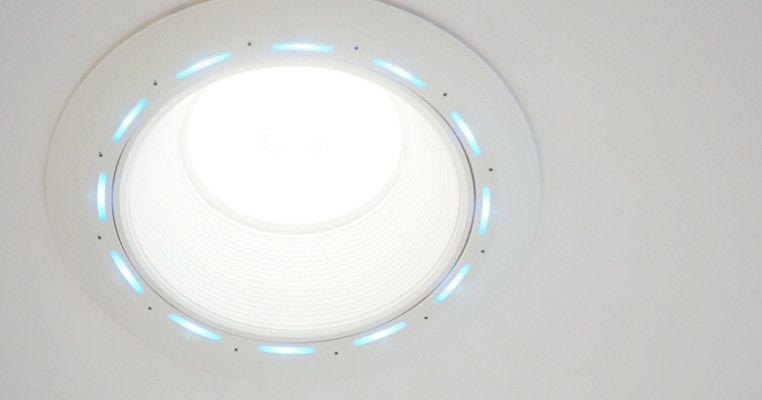 Put Alexa And A Jbl Speaker In Your Ceiling With This Clever Led Downlight Techcrunch Alexa Speaker Alexa Home Speaker
