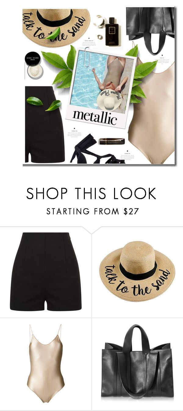 """""""Untitled #206"""" by ellaa-h ❤ liked on Polyvore featuring La Perla, Oséree, Corto Moltedo and Bobbi Brown Cosmetics"""