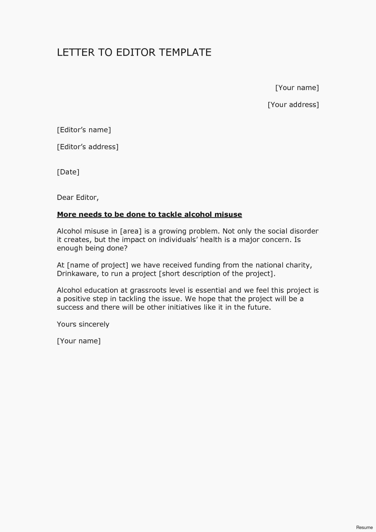 Letter To Editor Template from i.pinimg.com