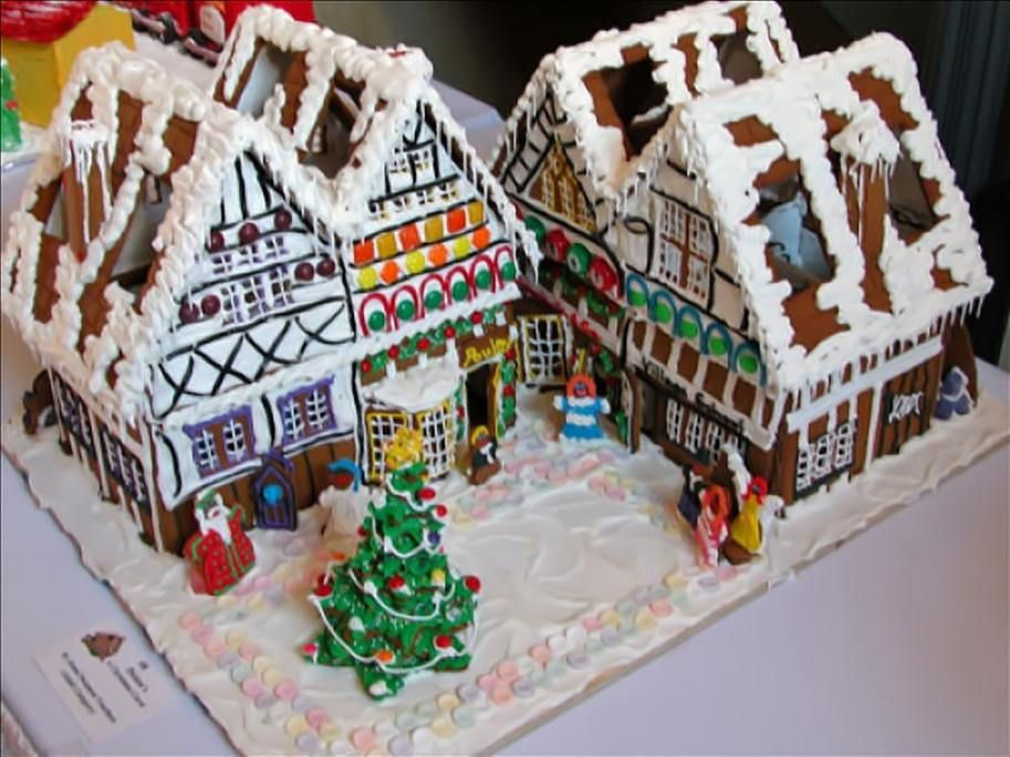 A HalfDozen Literary Gingerbread Houses Plugs The Ojays And - Gingerbread house garage