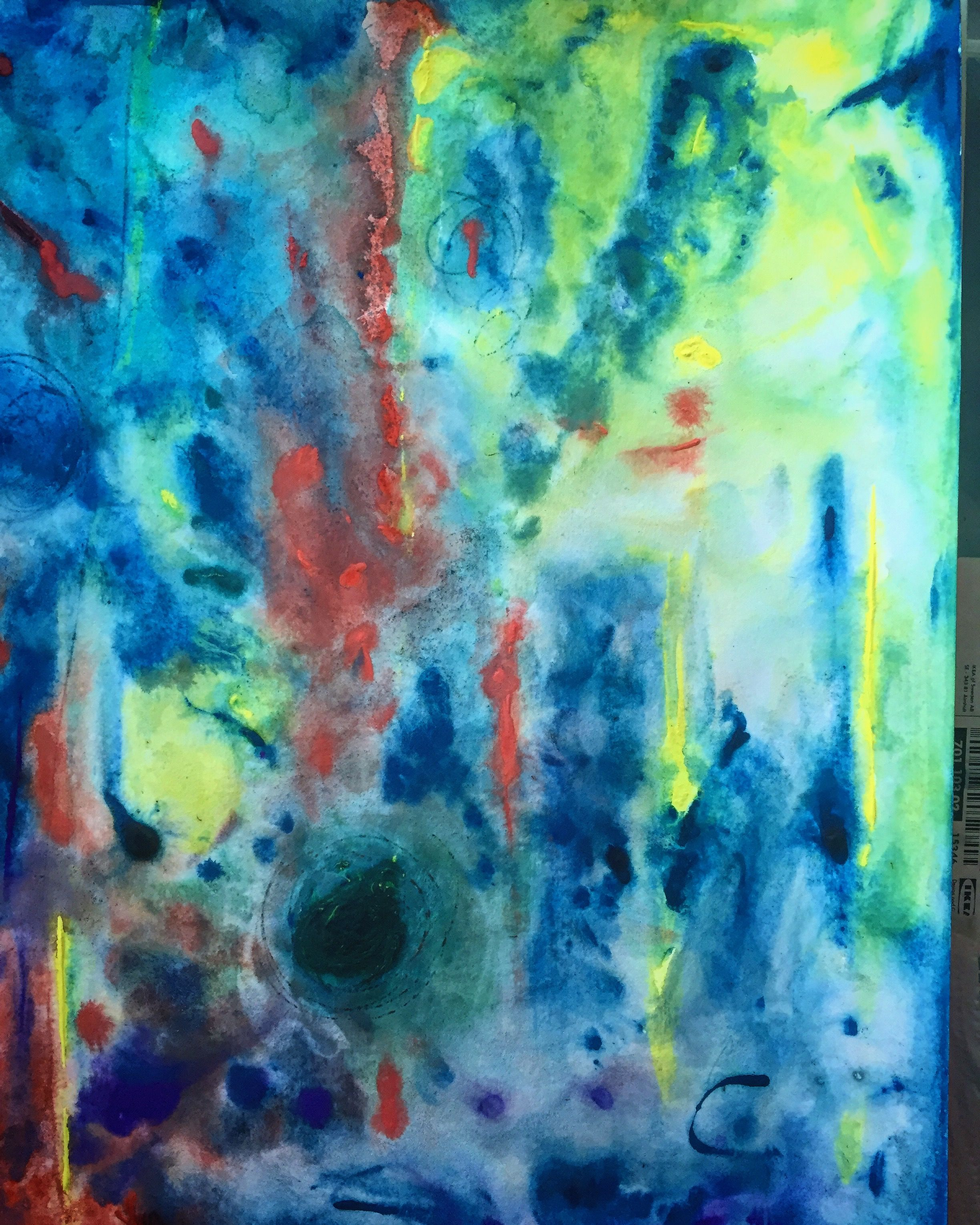 Abstract Art By Swedish Artist Tove Lofstedt