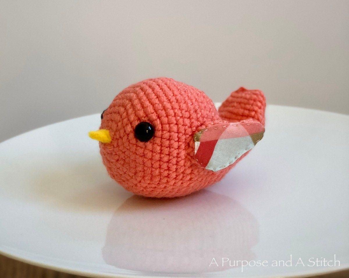 Amigurumi Spring Bird