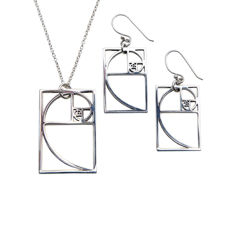 Photo of Golden Ratio Pendant Necklace – Golden Ratio Pendant Necklace – …