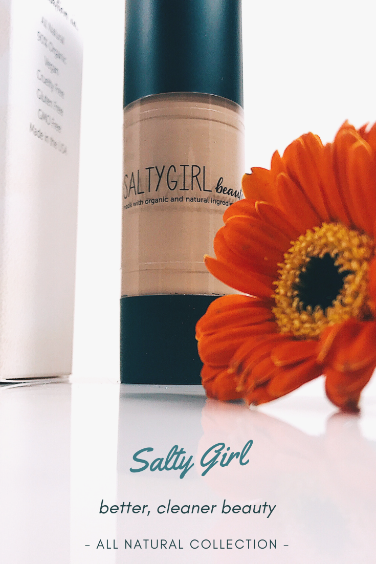 Salty Girl Beauty Foundation Natural makeup brands