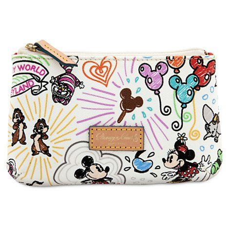 Best Makeup Bag Walt Disney World Sketch Cosmetic Dooney Bourke Be Sure To Check Out This Awesome Product Note It Is Affiliate Link