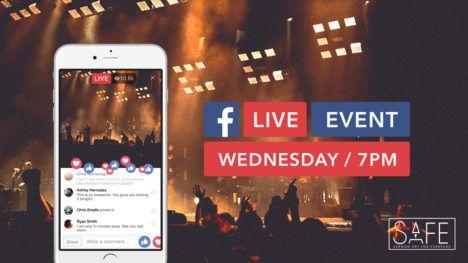 Facebook Live PSD Mockup | Templates & Mockups | Mobile mockup