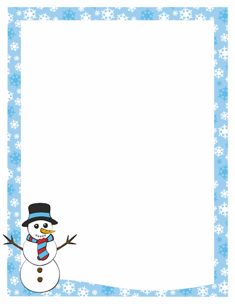 page border featuring snowman and snowflake free downloads at http also pin by pat on other borders frames  cards pinterest rh tr