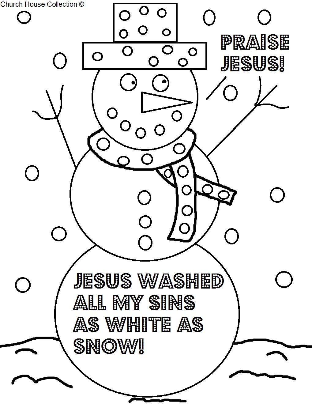Uncategorized Coloring Pages For Church church house collection blog christmas coloring page for sunday school snowman praise jesus coloring