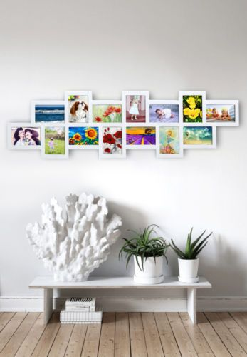 Studio 14 Multi Frame White Large collage picture