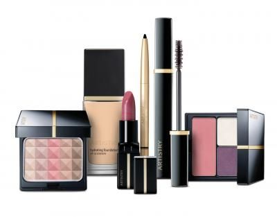 amway artistry beauty products