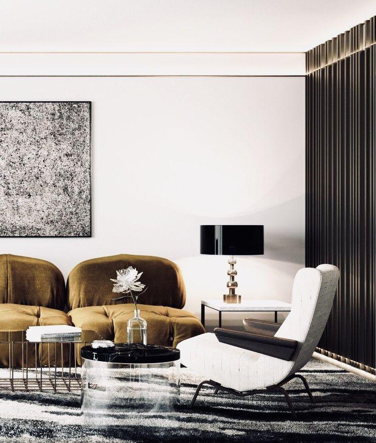 Warm Modern Living Room Ideas: Warm, Minimal And Modern Living Space