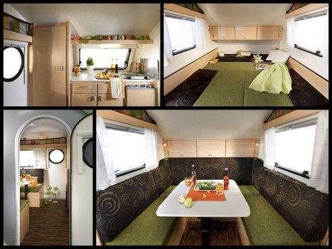 Teardrop Trailer Interiors The Clean Lines Minimalist Interior