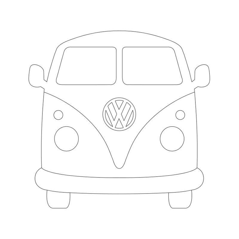 VW BUS Vorlage | Schnittmuster, Ideen und Tipps in 2018 | Pinterest ...