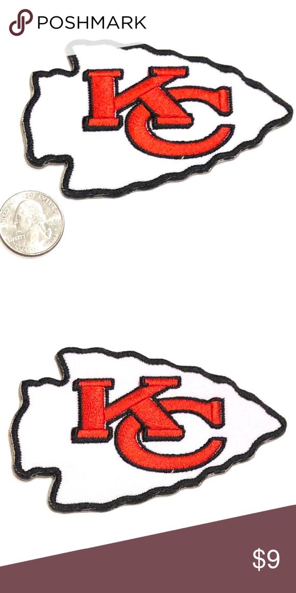 online store 74afe d285d Kansas City Chiefs Patch iron on NFL football DIY Kansas ...