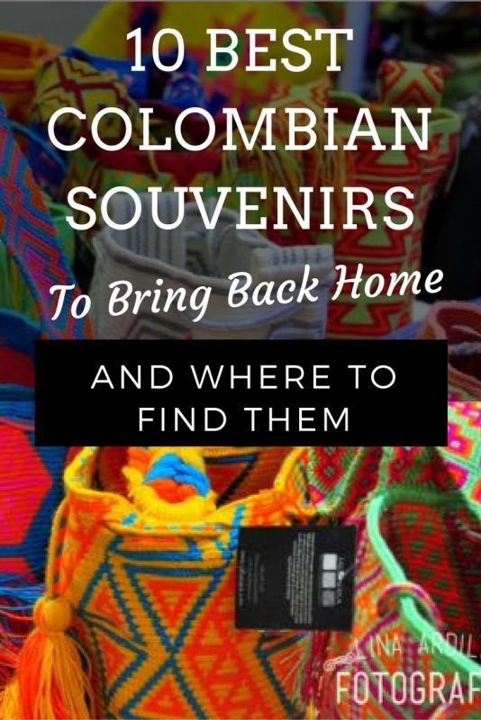 10 Best Colombian Souvenirs To Bring Back Home And Where To Find ... 27fc2b521