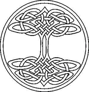 Celtic knot Tree of Life, part six . . .