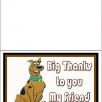 Big Thank You From Scooby Doo Books Worth Reading Pinterest