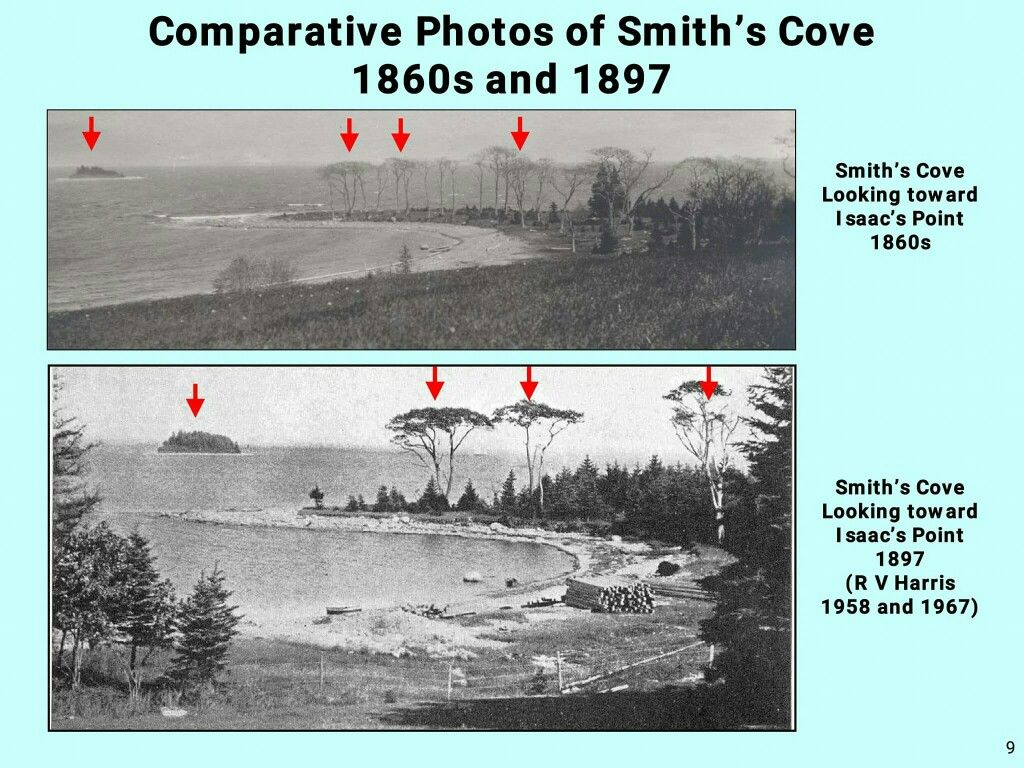 Oak Island Comparative Photos Of Smith S Cove 1860s And 1897 Oak Island Oak Island Money Pit Oak Island Mystery