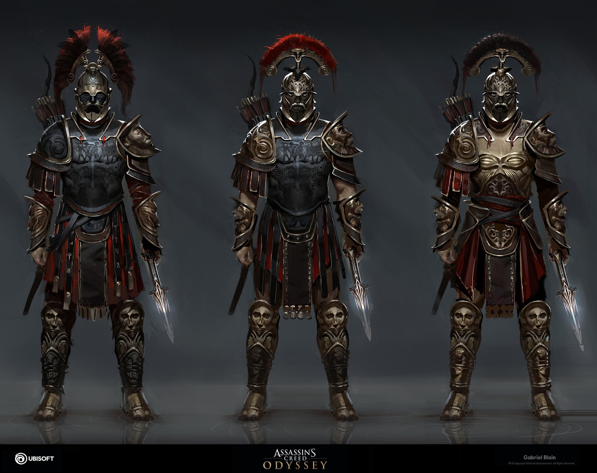assassins creed odyssey assassins armor - HD1920×1522