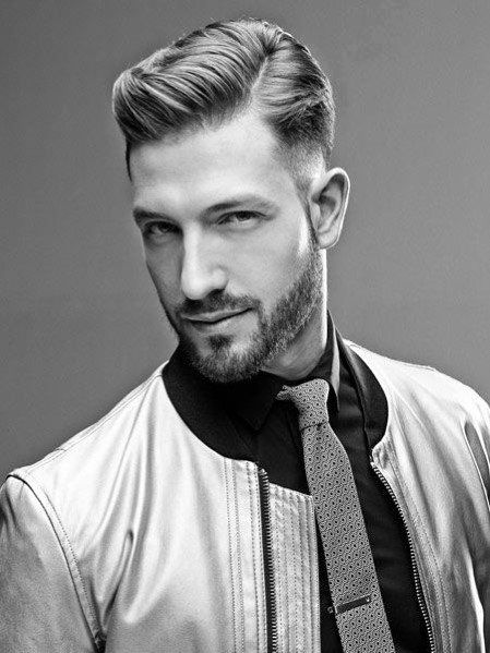 Side Part Haircuts For Males